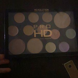 Light medium pro HD amplified palette